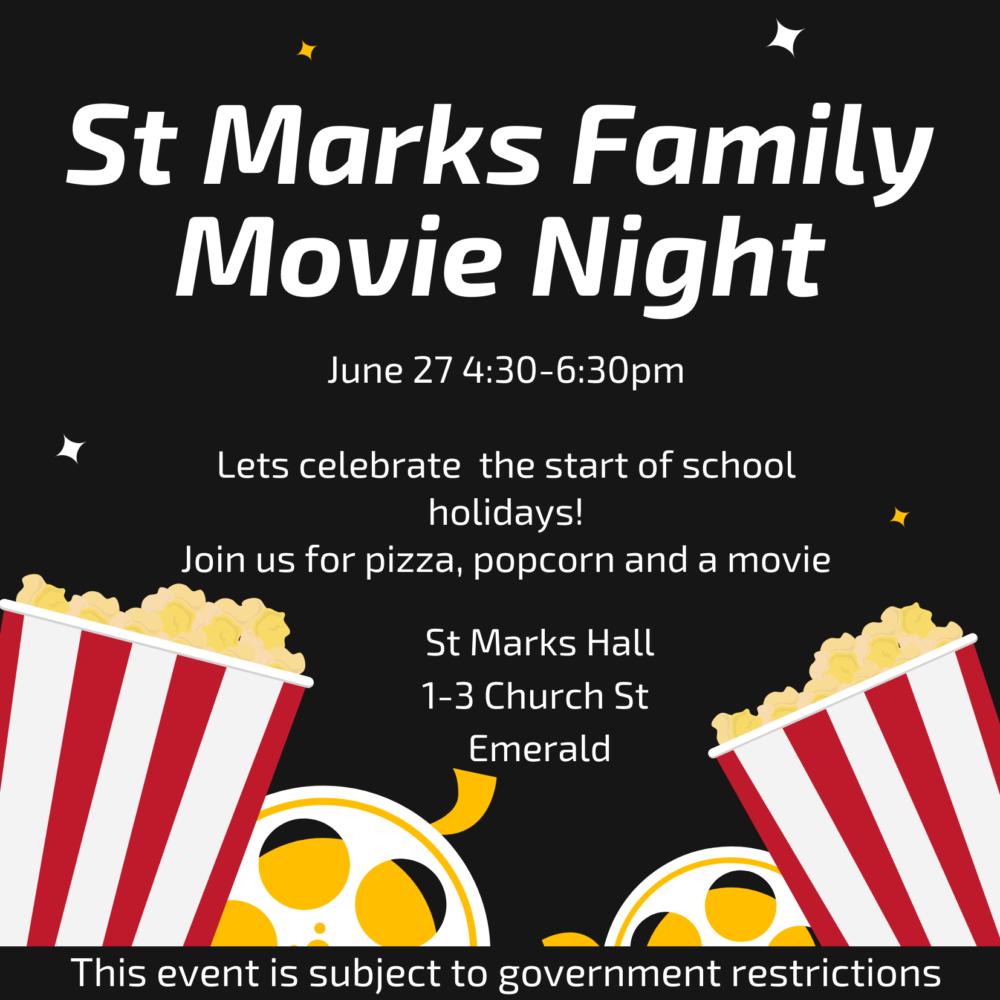 St Mark's Family Movie Night